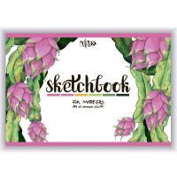 Скетчбук Трек А5 (14,8х21 см) 250 г/м.кв. 25 листов для маркеров  (+05286)